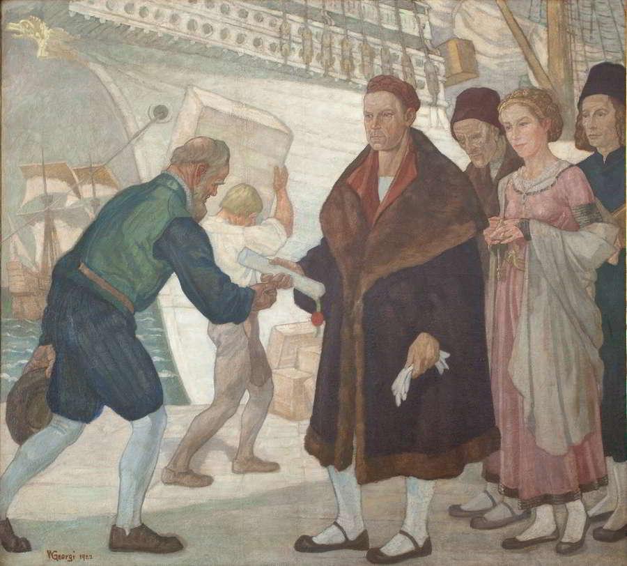 Gemälde GL-Saal
