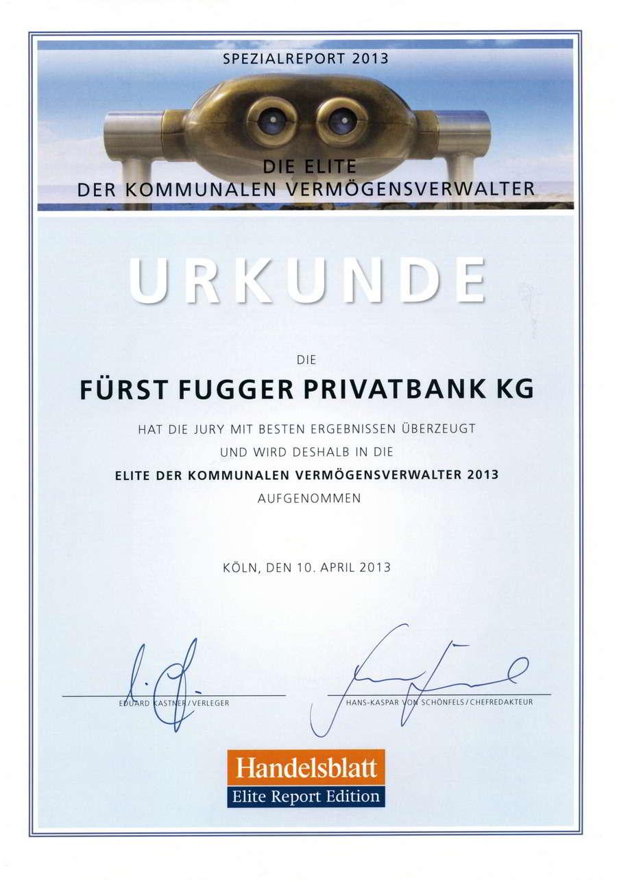 Fürst Fugger Privatbank Kommunale Vermögensverwalter