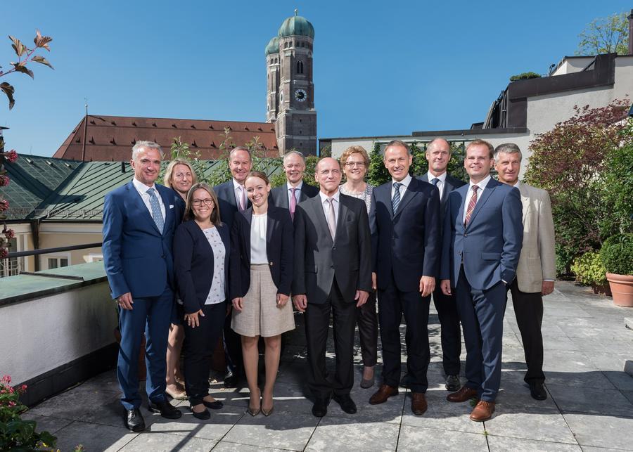 Berater und Assistenten des Private Banking München