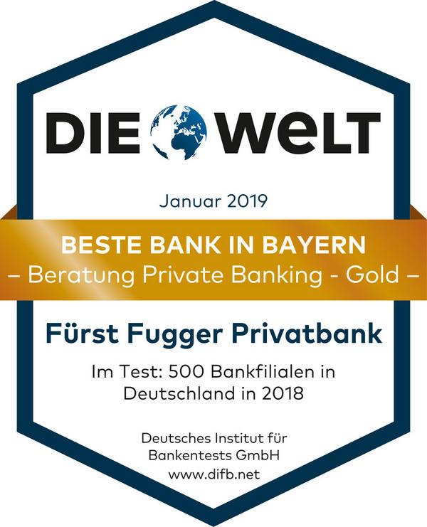 Bankensieger in Bayern 2019