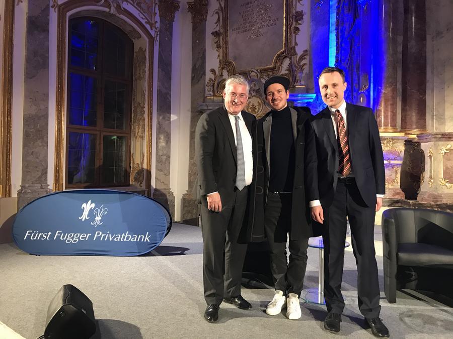 Dr. Martin Fritz, Felix Neureuther und Alexander Wagner