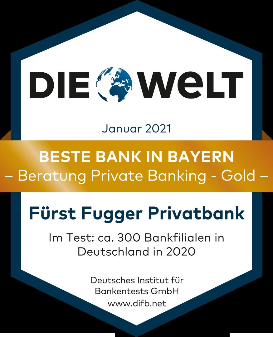 Die WELT beste Bank