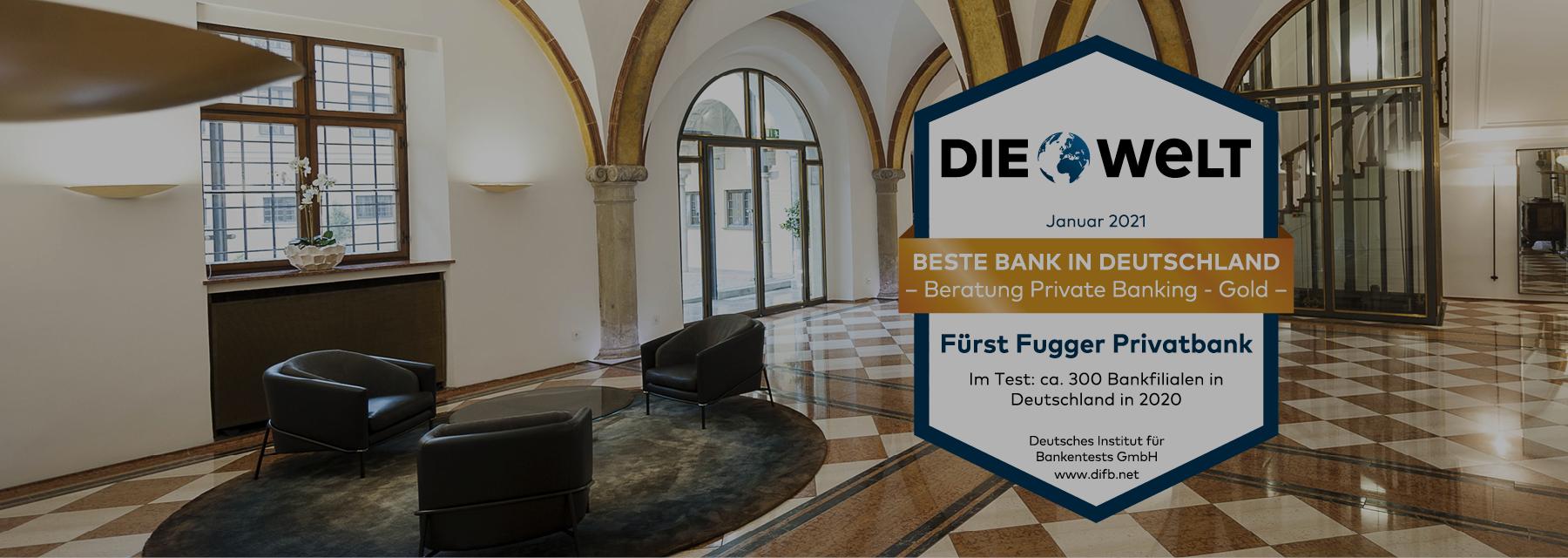 Beste Bank Deutschlands