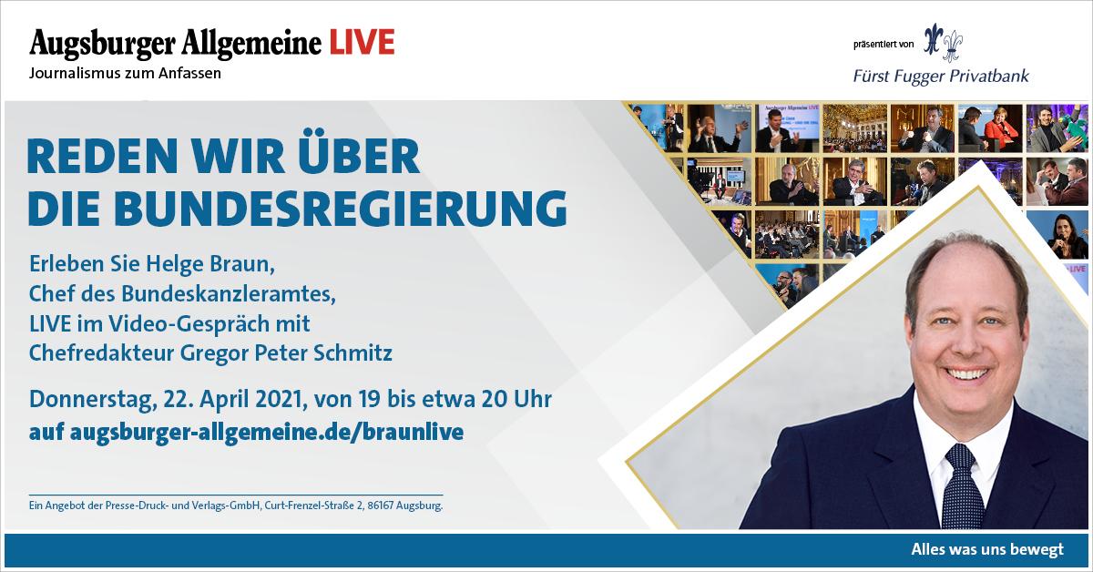 Helge Braun und FFPB